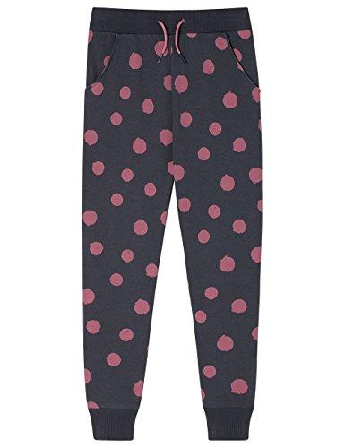 Schiesser Mädchen Schlafanzughose Mix & Relax Joggpants, Grau (Graphit 207), 152 (Herstellergröße: S)