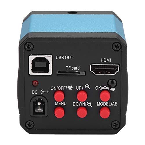 Zunate HDMI HD Kamera mit 14 Millionen Pixeln,14MP HDMI USB Industrie Video Mikroskopkamera Hochauflösende C-Mount-Kamera,für alle HDMI-Industriemikroskope(EU) C-mount-kamera