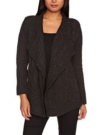 Levi's 3/4 Patchwork Women's Sweater Charcoal X-Small