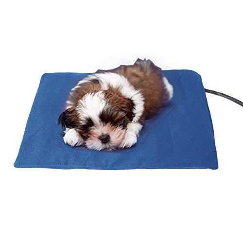 Vinteky Almohadilla eléctrica para perros Cojines térmicas para perreras con inteligente constante de temperatura Cojín de Calefacción para su mascota Manta Eléctrica para Perros y Gatos.Práctico