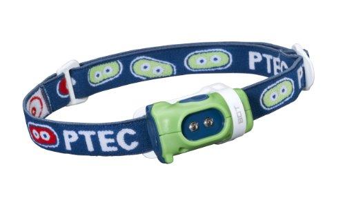 Princeton Mädchen-Stirnlampe Tec Bot, Weiße LEDs Green/Blue