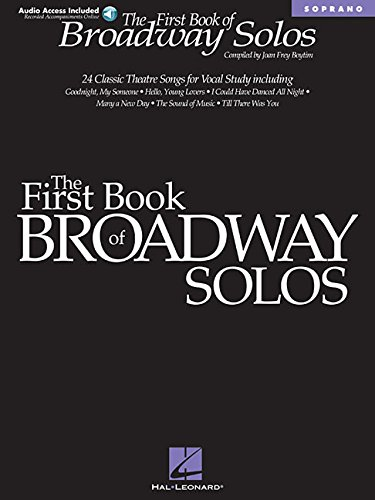 First Book of Broadway Solos: Soprano