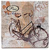 My Old-fashioned bike - paper napkins - 33x33cm - 3ply - Vintage Decoupage by PAW
