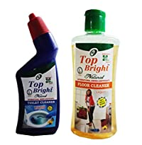 Top Bright Toilet Cleaner 500ml and Floor Cleaner 500ml