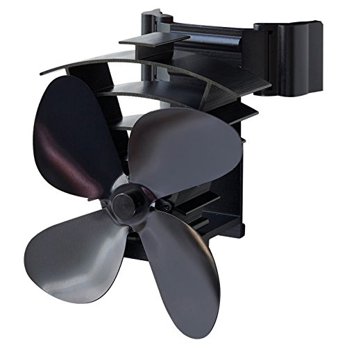 Valiant Hitze Powered Ofen FAN, schwarz, FIR350 5W, 5V - Luft-ofen