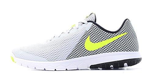 Nike Flex Experience Rn 6, Scarpe da Corsa Uomo, Bianco (Pure Platinum/Volt/Black/White), 45.5 EU