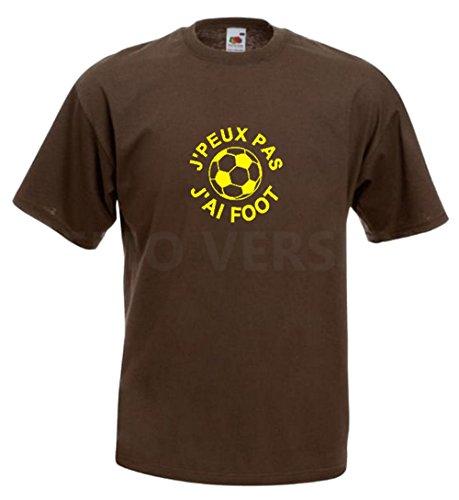 Steefshirts Herren T-Shirt schwarz schwarz Small Schokoladenbraun