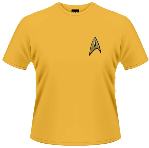 Star Trek (The Original Series) Command Gold Uniform Adult T-Shirt