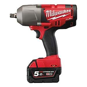 """Milwaukee 4933448418–m18chiwf-12–502x clé à choc 18V 5,0Ah LITHIUM 1/2"""""""
