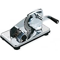Ilsa 200 Stainless Steel Meat Cutter with Suction Pads, Silver