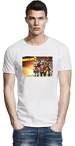 Borderlands 2Captain Scarlett and Her Pirate's Booty Crew Raw Edge-T-Shirt X-Large