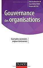 Gouvernance des organisations - Exemples sectoriels, enjeux transverses de Jean-Michel Huet