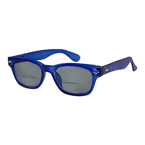 I NEED YOU Lesebrille Woody Sun-Bi / +2.50 Dioptrien / Blau, 1er Pack