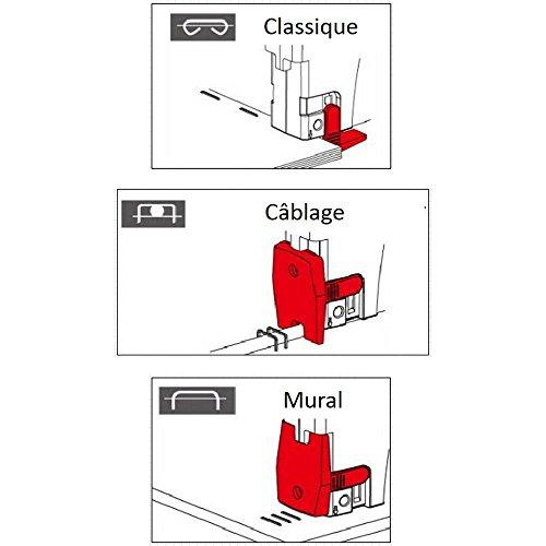 Agrafeuse Manuelle 3 en 1 /// Agrafage gros volumes - Mural - Câblage