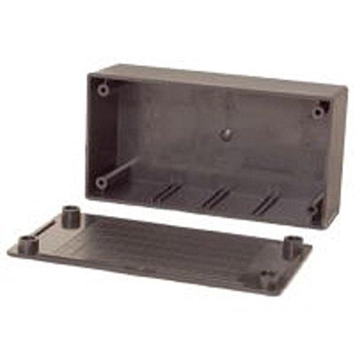 Velleman WCAH2853 - Caja (Negro, De plástico, 130 mm, 70 mm, 45 mm)