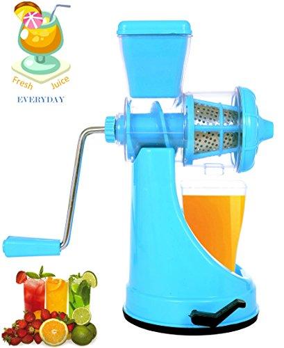 Vivir® Fruit And Vegetable Juicer With Steel Handle And Vacuum Base (assorted Colours)