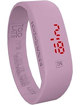 Uhr nur Zeit Unisex Too Late Original Größe S CASUAL Cod. 8052145225734