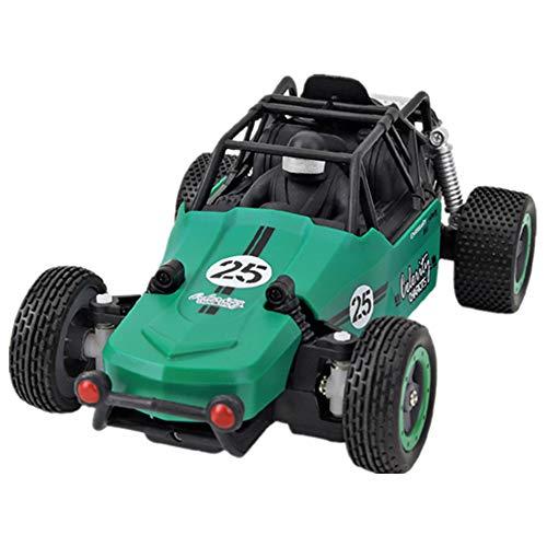 QTIAN RC Racing 1/20 Automobilina telecomandata per Bambini 2.4GHz Telecomando Radio Fuoristrada ad Alta velocità per Auto Ricaricabile Telecomando per Auto, Regalo,V