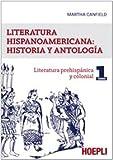 Image de Literatura hispanicoamericana: historia y antologia: 1