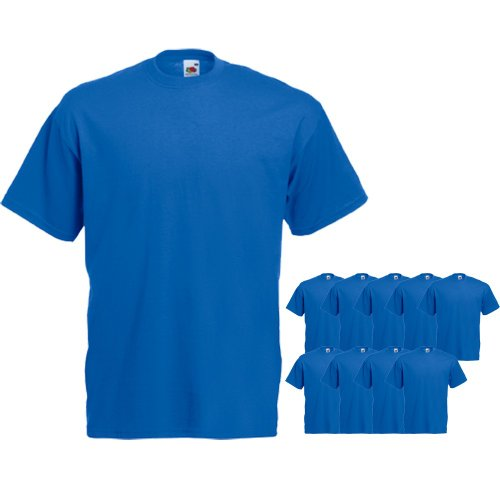 Fruit of the Loom 10 x Valueweight T-Shirt von FRUIT OF THE LOOM 61-036-0 set6