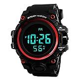 Armbanduhr der Luxus-Mann-Analog-Digital-Militärarmee-Sport-LED Wasserdichte Herren Digital Sport Uhren Chenang Outdoor Wasserdichte Armbanduhr mit Wecker Chronograph und