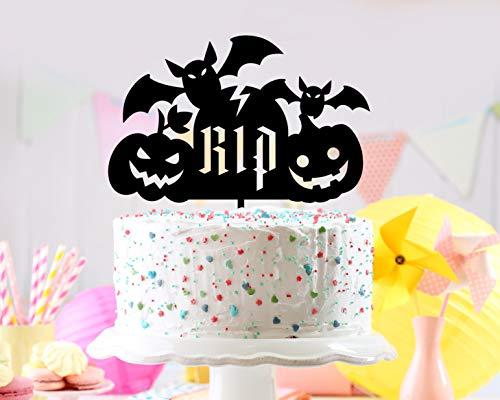 Halloween Schilder, Einzigartige Tortenaufsatz, Halloween Zombie, Halloween Tortenaufsatz, Lustige Kuchen Topper, Halloween Ideen, Halloween Party-Idee, Schild