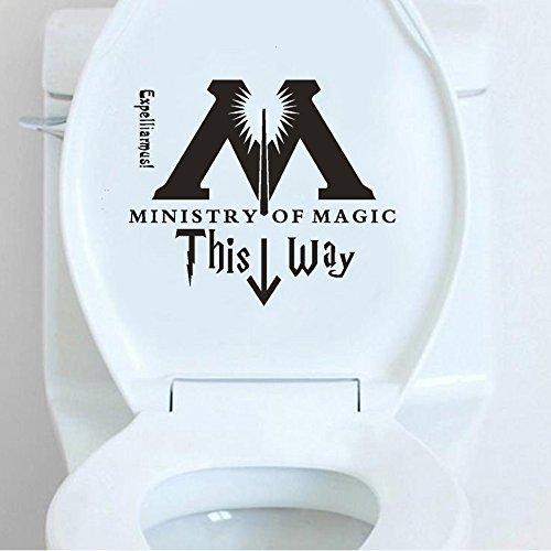 KeySmart Harry WC Aufkleber Eingang Zaubereiministerium