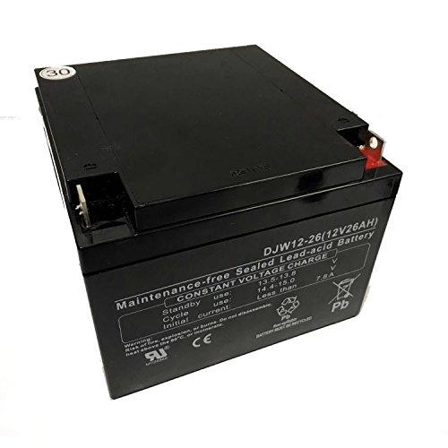 Batería de plomo ácido 26Ah batería para carrito de Golf