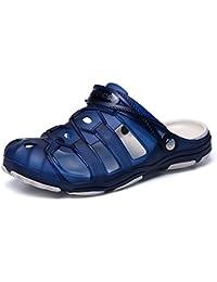 MagiDeal Zapatos de Enfermería Médico de Cocinero de Mujeres Hombres para Trabajar Plástico Sin Agujero Blanco/Negro - Blanco, 39