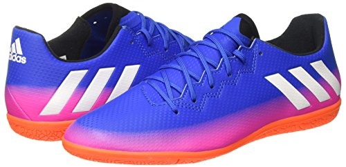 adidas Men    s Messi 16 3 in Football Boots   Blue FTWR White Solar Orange   9 UK 43 1 3 EU