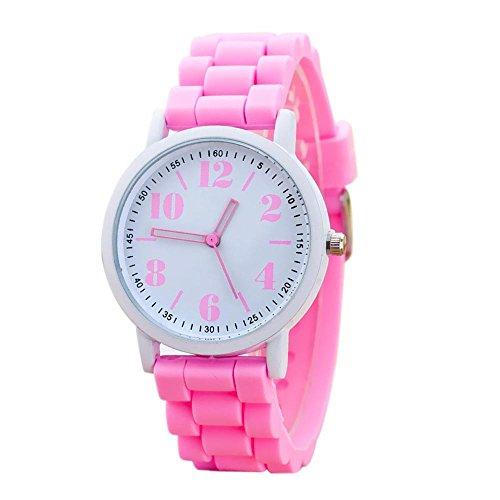 TianWlio Armbanduhren Damen Mode Silikon Motion Quarz Uhren