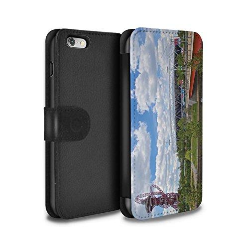STUFF4 PU-Leder Hülle/Case/Tasche/Cover für Apple iPhone 6S / Tower Bridge Muster / Seiten London Kollektion Olympiapark/Orbit
