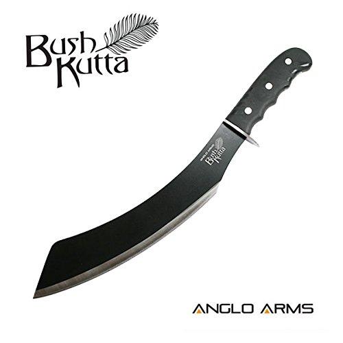 Outdoormesser Bush Kutta' Parang Machete mit Nylonhülle und Gürtelhalter - ideal für Outdoor, Camping, Jagd