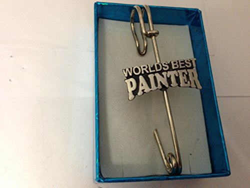World's Best Painter D3 kilt pin Scarf or Brooch