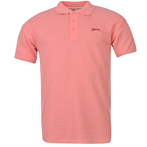 Slazenger Herren Polo Poloshirt 2014, S-4XL Light Pink