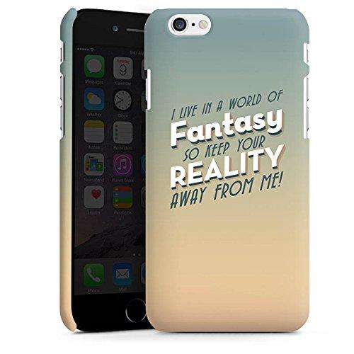 Apple iPhone X Silikon Hülle Case Schutzhülle Fantasie Sprüche Statement Premium Case matt