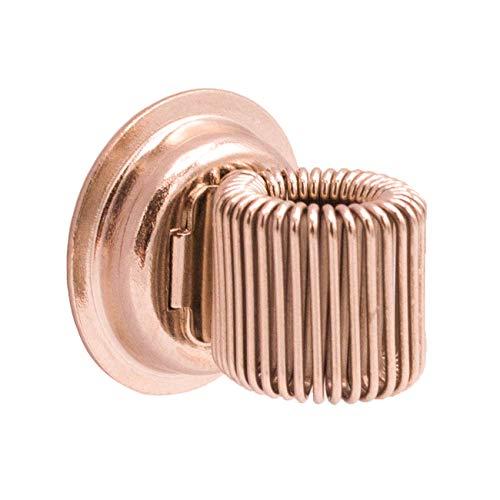 WANDLER® by Infinity Boxes Magnet, magnetischer Stifthalter, roségold, rund, Ø 2 cm (Infinity-stifte)