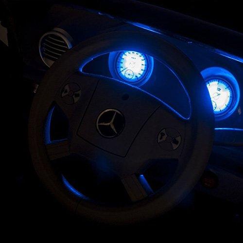RC Auto kaufen Kinderauto Bild 6: crooza Mercedes-Benz SUV GL450 GL 450 Jeep 12V Kinderauto Kinderfahrzeug Kinder Elektroauto (Schwarz)*