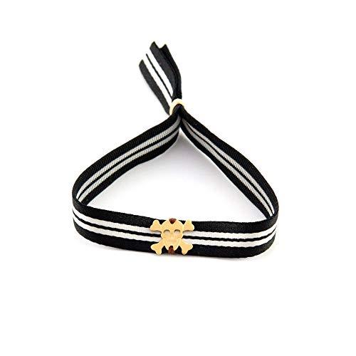Kostüm Mann Ein Band - Verstellbares Unisex Armband mit Gummiband und Totenkopf. Surf Mann Armband. Armband Frau Yoga. Retrostyle.Vatertagsgeschenk. Papa Geschenkideen