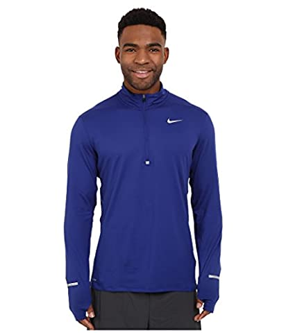 Nike Element Maillot Homme, Deep Royal Blue/Reflective Silver, FR : XL (Taille Fabricant : XL)