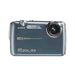 Casio EXILIM EX-FS10 BE Highspeed Digitalkamera (9 Megapixel, 3-fach opt. Zoom, 6,4 cm (2,5 Zoll) Display) blau