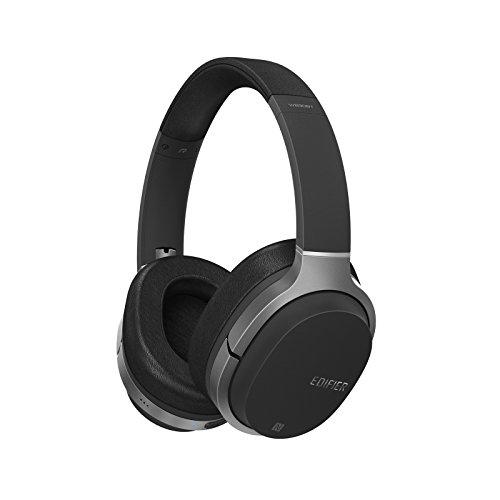 Edifier Auriculares W830BT con Bluetooth, Auriculares Inalámbricos Sobre Oreja, Cascos Hi-Fi Estéreo con Micrófono y Control Remoto para Teléfonos Móviles, PC, Tableta, Mac