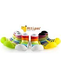 Attipas - Zapatos ergonómicos para aprender a andar, diseño multicolor