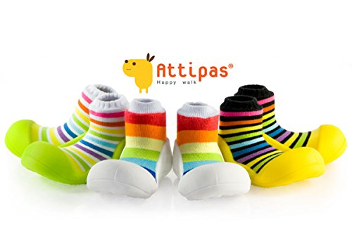 Attipas-ergonmico-zapatos-del-Caminante-para-andar-por-casa-Rainbow