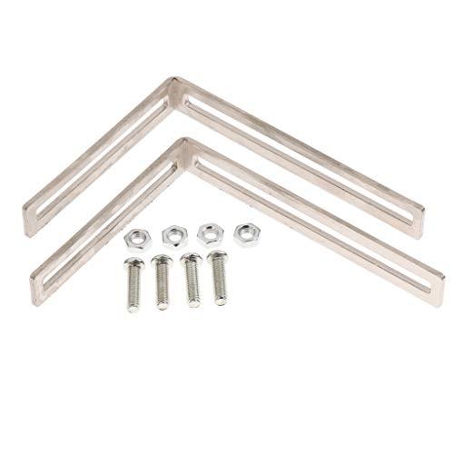 H HILABEE Metallhalterungen Für PC Wasserkühlungssystem -