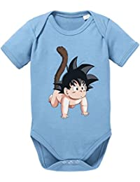 Son Goku baby Baby Bebé Body Dragon Master Son Ball Vegeta Turtle Roshi Db