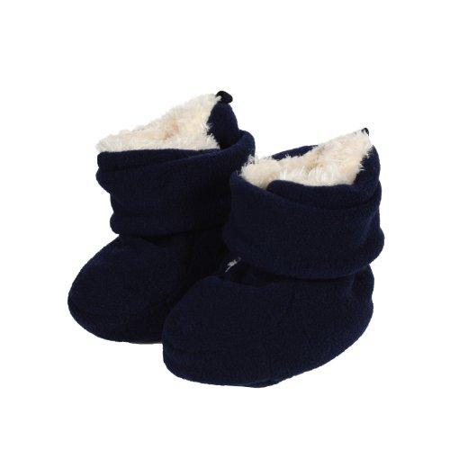 Döll Unisex Baby Babyschuhe Fleece Strumpfhose, Blau (navy blazer 3105), 1.5 (Herstellergröße: 1,5)