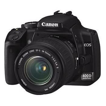 Canon eos 400d digital slr camera incl ef s 18 55mm f
