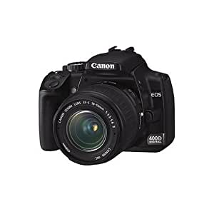 Canon EOS 400D Digital SLR Camera (incl. EF-S 18-55mm f/3.5-5.6 Lens Kit) – (Discontinued by Manufacturer)