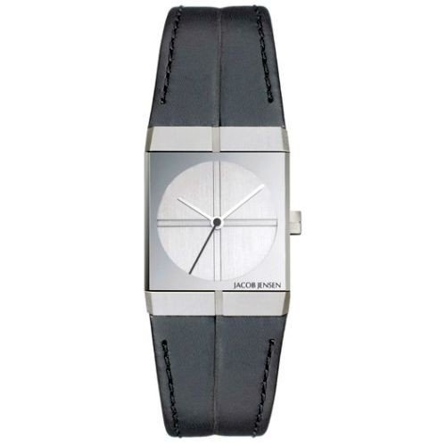 JACOB JENSEN Ladies Watch SERIES ICON No 242 32242, with leather strap